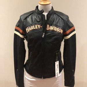 Ladies Harley-Davidson leather jacket size S NWT
